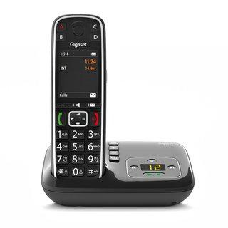 E720A Analoges/DECT-Telefon Anrufer-Identifikation Schwarz