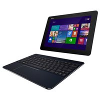 T100CHI-FG001B 25,6 cm (10,1 Zoll FHD) Convertible Tablet-PC (Intel Atom Z3775, 1,4GHz, 2GB RAM, 32GB SSD, Intel HD, Win 8, Touchscreen) schwarz