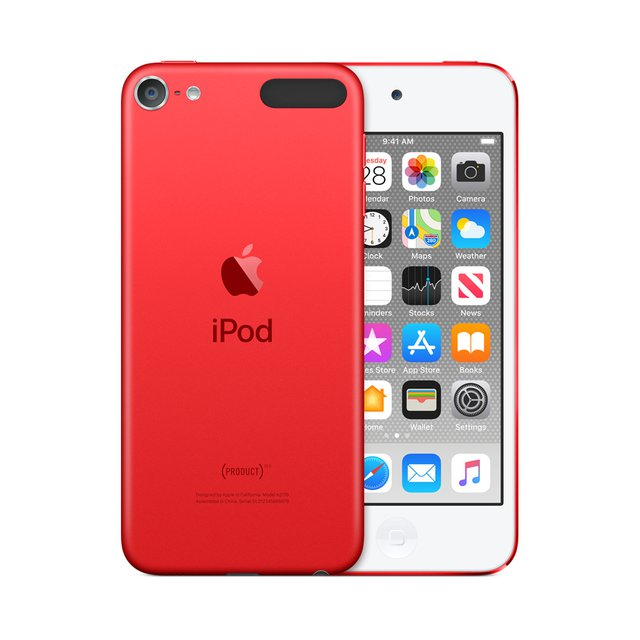 MP3 Player iPod Touch 2019 128 GB Rot