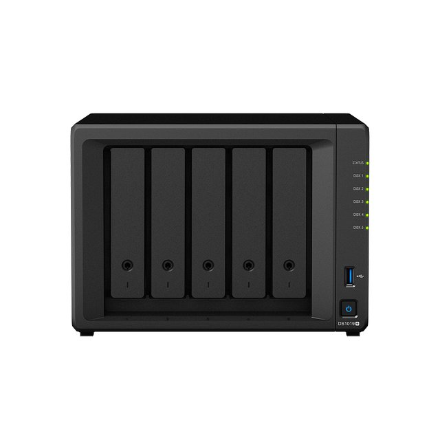 Disk Station DS1019+ - NAS-Server - 0 GB