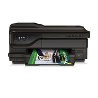 Officejet 7612 (G1X85A) A3 All-in-One Drucker (Drucker, A4 Scanner, Kopierer, Fax, 4800 x 1200 dpi, USB, WLAN, LAN, Airprint, Cloud print) schwarz