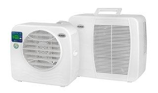 Klimagerät für Wohnwagen 16 m², Energieeffizienzklasse: Keine, Typ: Klimaanlage, Funktionen: Entfeuchten; Kühlen, Geräuschentwicklung in