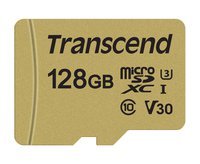 Premium 500S microSDXC-Karte 128 GB Class 10, UHS-I, UHS-Class 3, v30 Video Speed Class inkl. SD-Adapter