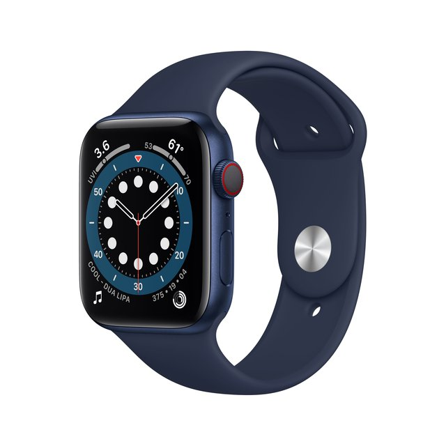 Smartwatch Watch Series 6 , Aluminium, GPS+Cellular, 44mm