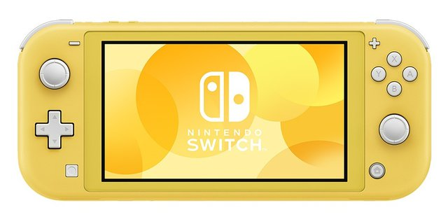 Switch Lite - Spielekonsole - Gelb