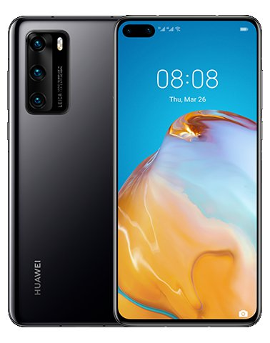 Huawei P40 5G Black - Ohne Google Services