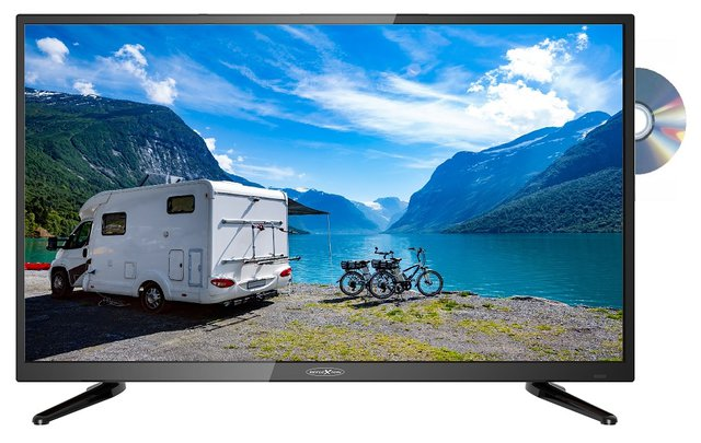 LDD4088 LED-TV 100 cm 40 Zoll EEK A (A+ - F) DVB-T2, DVB-C, DVB-S, Full HD, DVD-Player, CI+ Schwarz