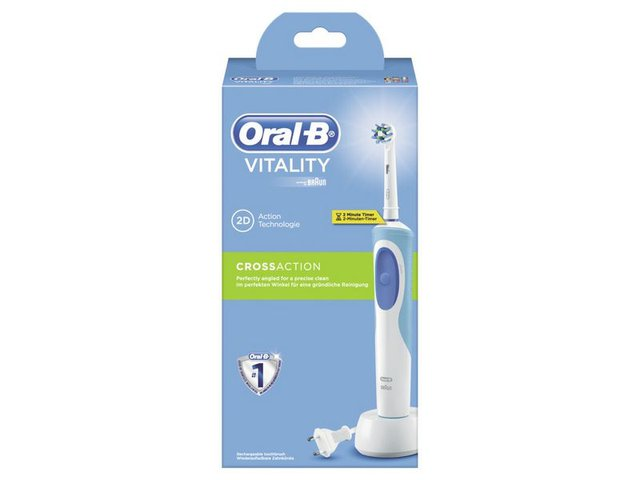Rotationszahnbürste Vitality CrossAction cls