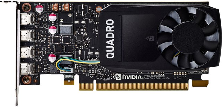 Grafikkarte NVIDIA Quadro P1000 4 GB 1ME01AA
