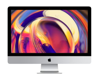 """iMac (2019) - All-in-One-PC (27 """", 1 TB Fusion Drive, Silber)"""
