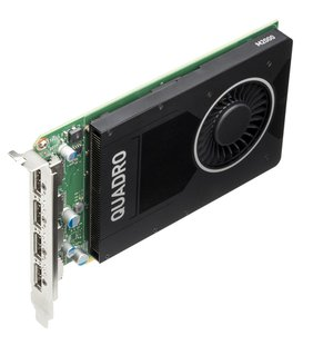 NVIDIA Quadro M2000 - Grafikkarten - Quadro M2000 - 4 GB GDDR5 - PCIe 3.0 x16 - 4 x DisplayPort - für Workstation Z240 (MT, Tower)