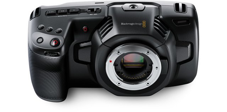 Videokamera Pocket Cinema 4K MFT-Anschluss