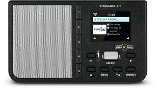 STERNRADIOIR1 sw - Internetradio WLAN STERNRADIOIR1 sw