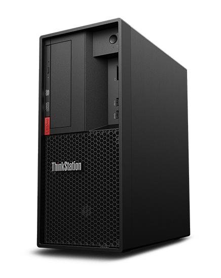 ThinkStation P330 Tower Gen 2 - Desktop PC (Schwarz)