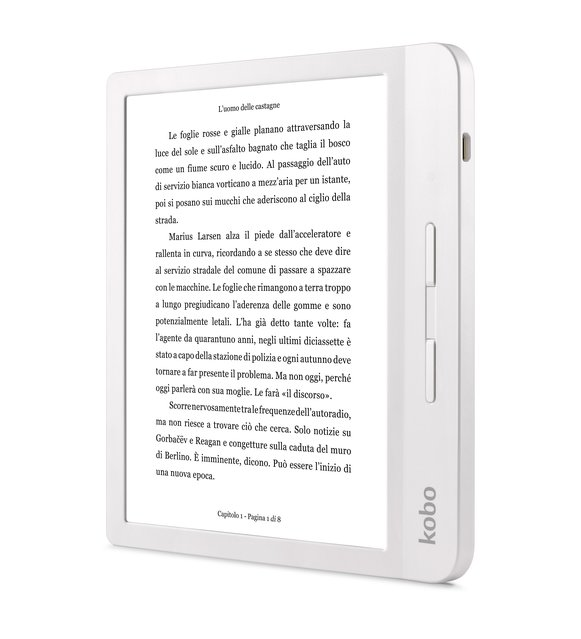 KOBO Libra H2O - eBook Reader (Weiss)
