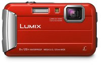 Lumix FT30, rot - 16.1 Mio., 4x opt. Zoom (25-100mm), 2.7