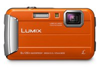Lumix Dmc-Ft30 Eg-De - Kompaktkamera (Fotoauflösung: 16.1 MP) Orange