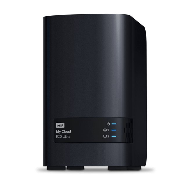 My Cloud EX2 Ultra - NAS-Server (HDD, 24 TB, Schwarz)
