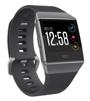 Ionic - Fitness-Smartwatch (S/l, Elastomer, Charcoal/Smoke Gray)