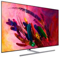 TV QE55Q7FN - 55 Zoll (138m), Flat QLED, 3840x2160 Pixel (4K Ultra HD), 3200 PQI, HDR 1500, One Connect Box, Supreme UHD Dimming, Ultra Black Panel, Ambient Modus, Twin Tuner