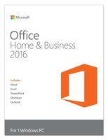 Microsoft Office Home & Business 2016 PC (D) Physisch (Box)
