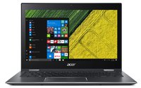 Spin 5 SP513-52N-54SF 33,8 cm (13,3 Zoll Full-HD IPS Multi-Touch) Convertible Laptop (Intel Core i5-8250U, 8GB RAM, 256GB SSD, Intel UHD, Win 10) Grau