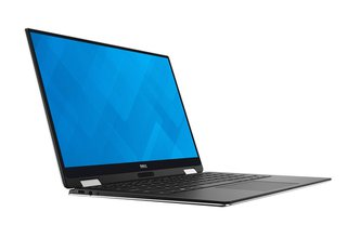 Dell 9365-4537 33,78 cm (13,3 Zoll QHD+ Touch XPS) Convertible Laptop (Intel Core i5-7Y54, 8GB RAM, 256GB SSD, HD Graphics 615, Win 10 Home) silber