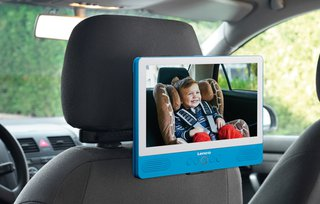 Touchscreen Tablet mit DVD-Player 9