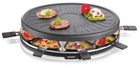 RG 2681 sw - Raclette-Partygrill 8 Pfännchen RG 2681 sw