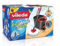 EasyWring & Clean Komplett-Set, Wischmop und Eimer mit PowerSchleuder