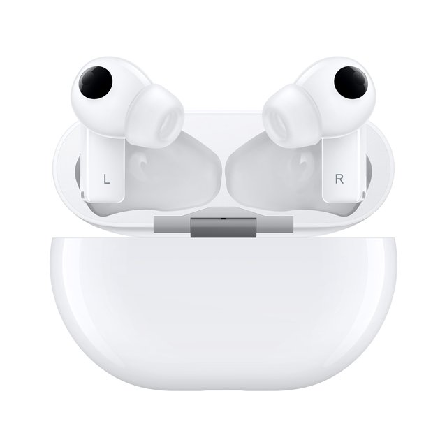 FreeBuds Pro ANC Stereo Bluetooth Wireless Kopfhörer Qi Ladecase Active Noise Cancelling (55033464) - Weiss