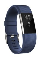 Fitbit - Charge 2 Laufuhr Large (blau/silber)