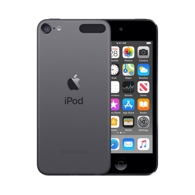 MP3 Player iPod Touch 2019 256 GB Space Grau