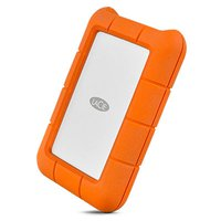 Rugged 1TB Usb-C Silver/orange - Festplatte (1 TB, Silber/Orange)
