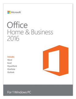 OFFICE 2016 HB - Software, Office 2016 Home & Business (PKC)