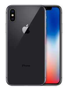 iPhone X - 256GB - schwarz
