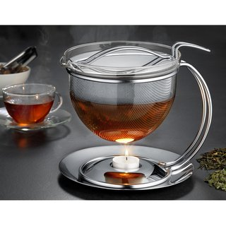 Teekanne Filio 1,5 l mit integriertem Stövchen