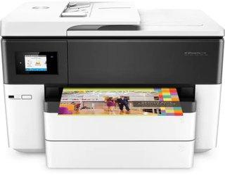 Officejet Pro 7740 All-in-One - Multifunktionsdrucker - Farbe - Tintenstrahl - Legal (216 x 356 mm) (Original) - bis zu 33 Seiten/Min. (Kopieren) - bis zu 34 Seiten/Min. (Drucken) - 250 Blatt - 33.6 Kbps - USB 2.0, LAN, Wi-Fi(n), USB-Host
