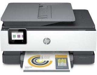 Multifunktionsdrucker OfficeJet Pro 8022e Grau/Weiss
