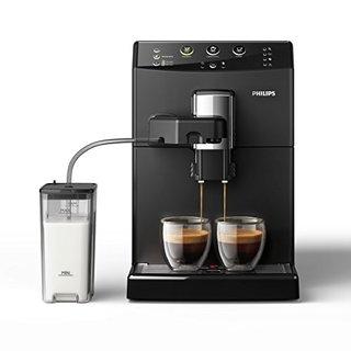 3000 Serie HD8829/01 Kaffeevollautomat (1850 W, Cappuccino auf Knopfdruck) schwarz