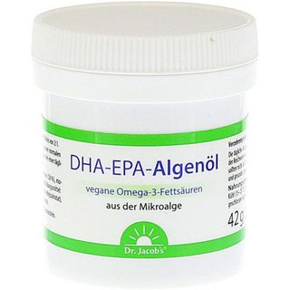 DHA-EPA-Algenöl Kapseln, 60 Stück